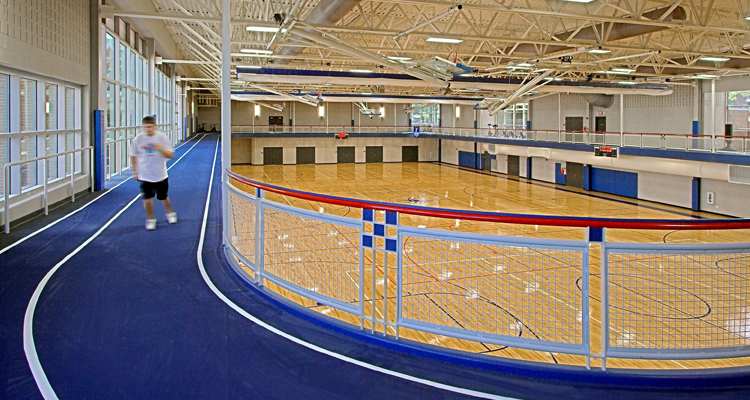Taylor & Parrish Weinstein Recreation Center at University of Richmond
